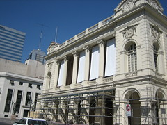 Earthquake damage, Santiago