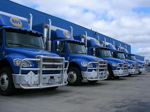 NAPA Auto Parts Freightliner M2s