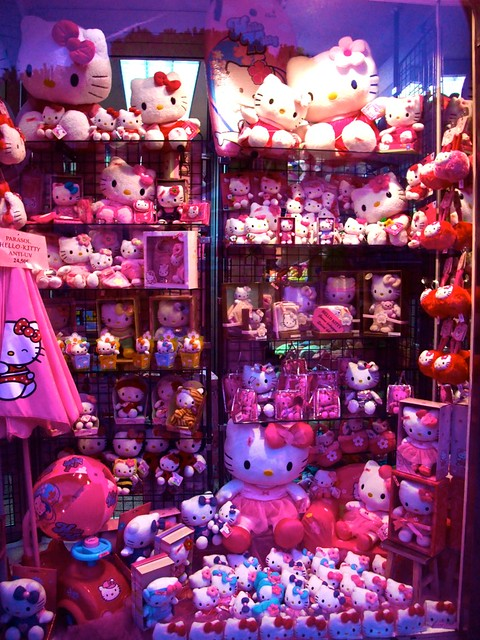 Hello Kitty Shop Window Collection