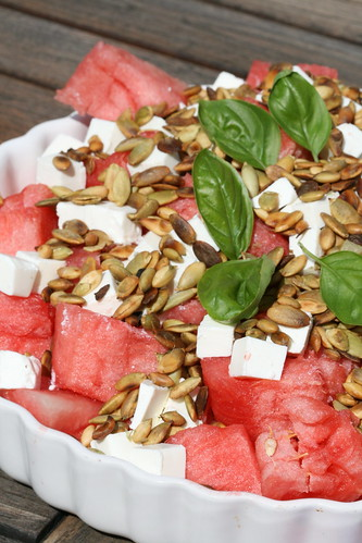 Watermelon salad /Arbuusisalat