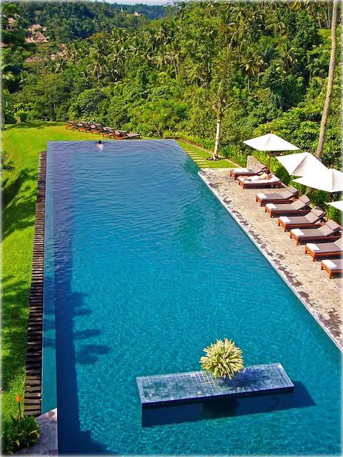 Stunning infinity pool alila ubud bali flickr for Infinity pool ubud