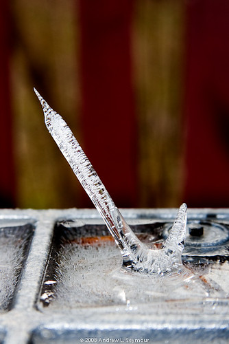 Inverted Icicle (Hook or a Check Mark)