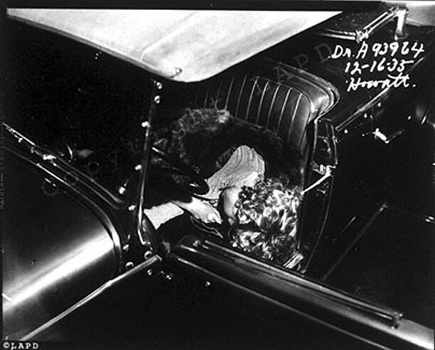 Car Show Finder App >> LAPD crime scene photo thelma todd 1935 | Flickr - Photo Sharing!