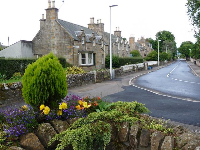 Dornoch Street Scene, Scotland