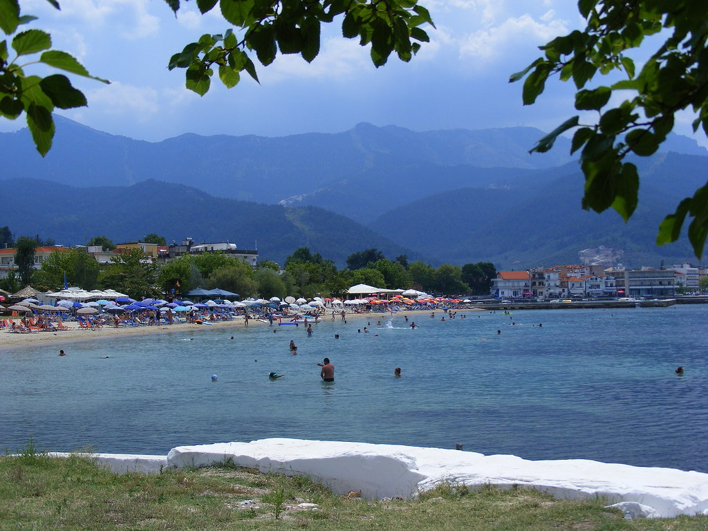 Thassos Town Beach