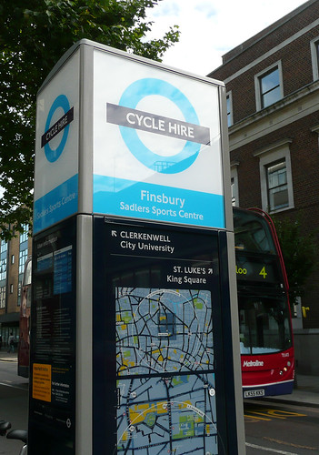 Cycle Hire Station: Finsbury Sadlers Sports Centre