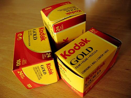 Kodak GOLD.