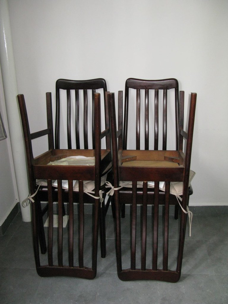 Matching Dining chairs for Marble Dining Table (sold)