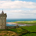 Fairytale Irish Castle....came acorss this Castle/Tower above Doolin Point in County Clare....I expected to see a Damsel in distress and knight on a white horse coming to the rescue!