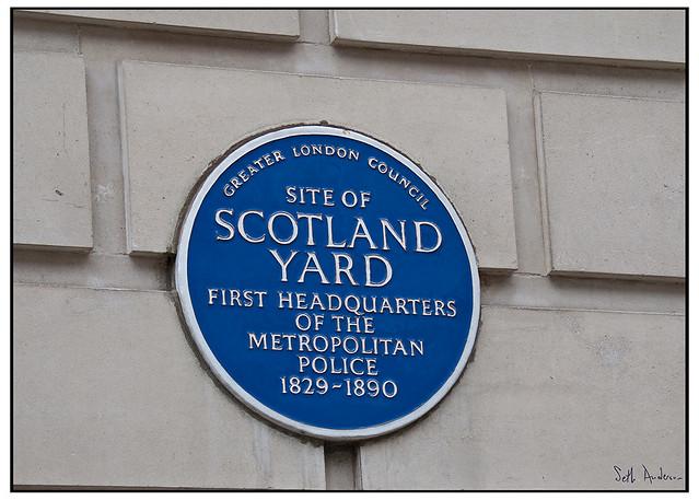 First Site of Scotland Yard