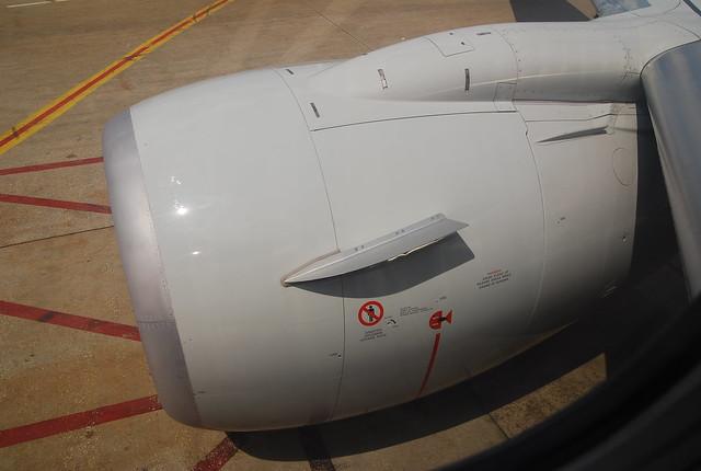 Boeing 737 NG (800) engine nacelle