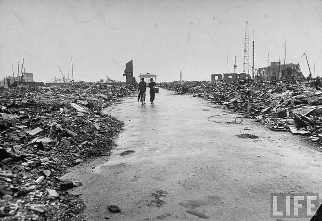 Hiroshima, September 1945, by Bernard Hoffman