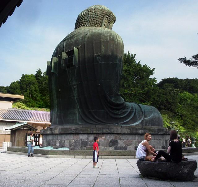 venting buddha in kamakura