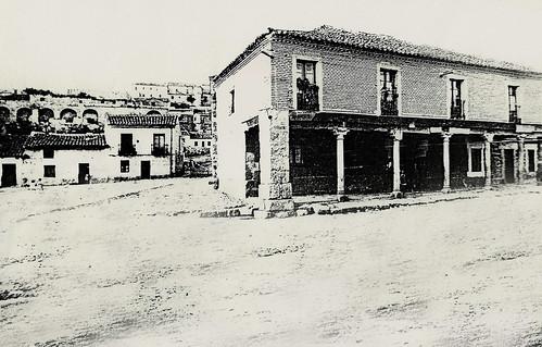 Ávila. Plaza y posada de la Feria.