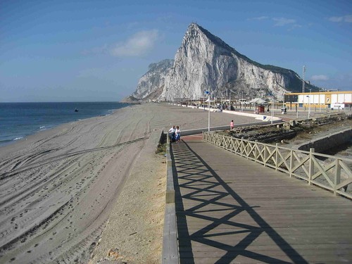Gibraltar from La Linea
