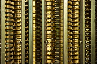 Closeup of Babbage Difference Engine #2
