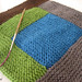 WIP: Knitted Log Cabin Blanket by MisoCraftyKnits