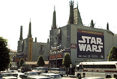 Graumann's Chinese Theater - movie premiere of Star Wars, May 1977