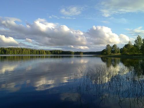 cloud lake view keuruu isokirja pohjoisjärvi