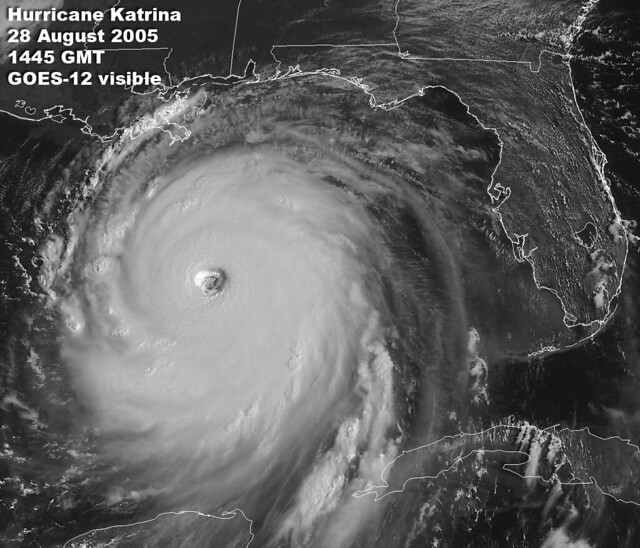 Hurricane Katrina August 28, 2005 from Flickr via Wylio