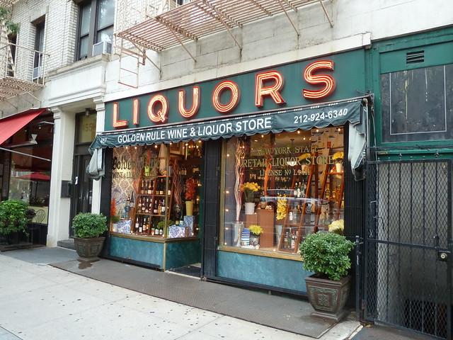 liquor store hudson street new york city flickr photo sharing