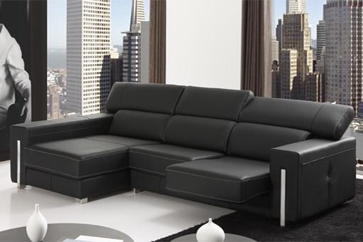 Sofas granfort sofa dos plazas con chaise longue for Chaise longue 5 plazas
