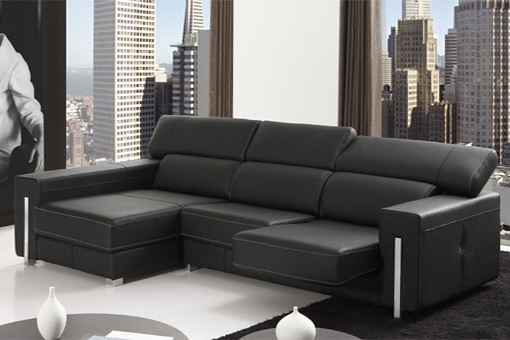 Sofas granfort sofa dos plazas con chaise longue - Sofa con chaise longue barato ...