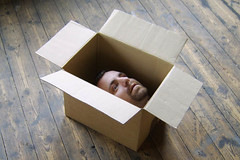 Head In Box by Tallscreen