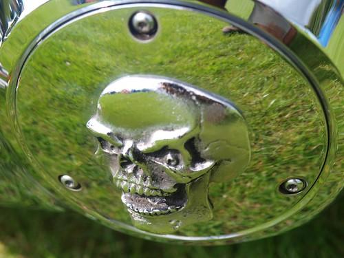 Harley Davidson Skull Decor