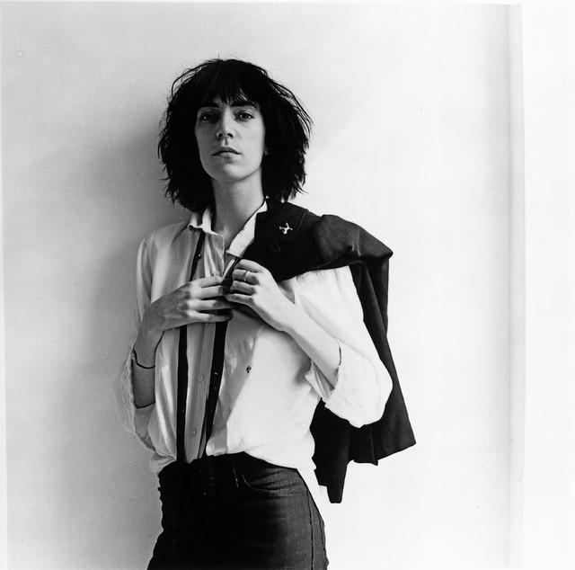 Patti Smith, by Robert Mapplethorpe 1975