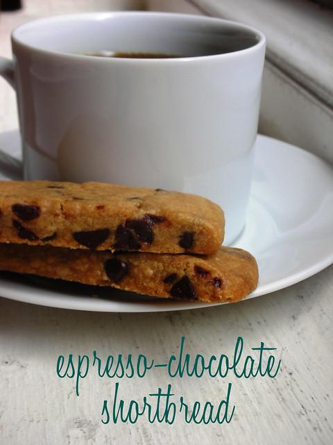espresso-chocolate shortbread cookies | Flickr - Photo Sharing!