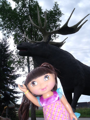Dora and Maximillian Moose, Dryden, ON