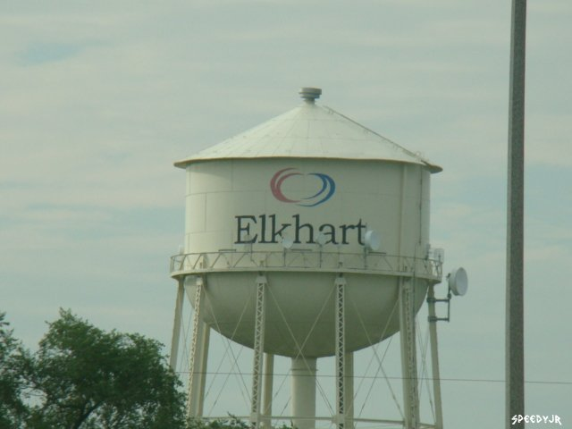 Y Elkhart Watertower - El...