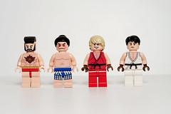 Street Fighter Minifigs - Round 1
