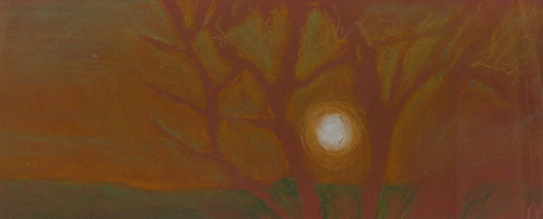original trees light sunset shadow red sky italy sun white man black hot color tree guy green art nature beautiful beauty grass yellow modern night painting paper landscape geotagged sketch europe paint pretty artist italia artistic drawing pastel iraq east charcoal painter draw crayon lovely exile middle perugia iraqi middleast akab wasfi mygearandme ringexcellence