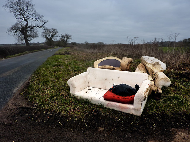 Fly Tipping A Sofa And Armchairs Flickr Photo Sharing
