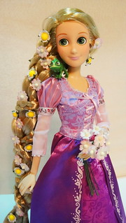 "Disney Store 12"" Tangled Rapunzel Doll"