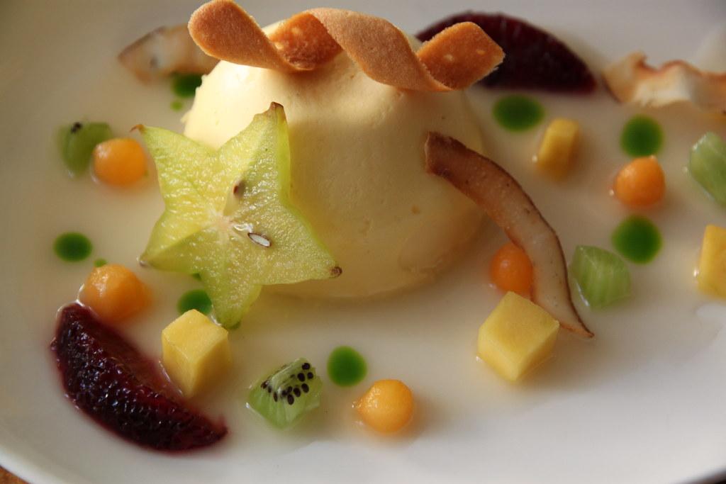 Passion Fruit Semifreddo-