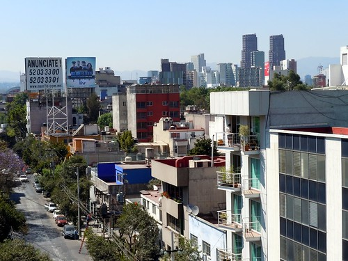 Polanco skyline (view from our terrace)