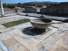 water feature, flagstone, flooring,