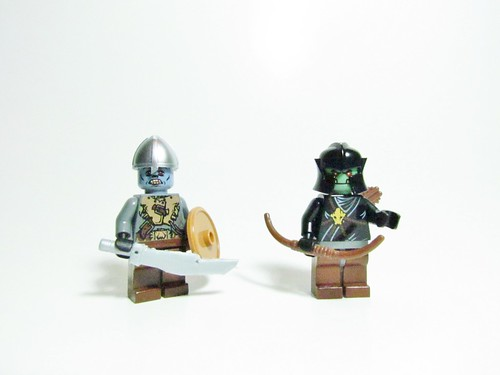 Lego Lord of the Rings Orcs