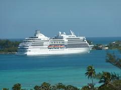 Regent Seven Seas Navigator arrives in Nassau