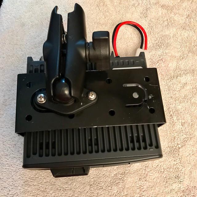 Radio mount