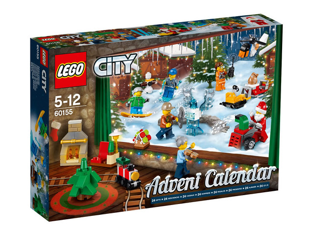60155 Lego City 2017 Advent Calendar
