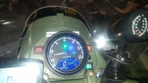 The Universal Chinese Speedo/Tach In A Ural - Canadian Ural