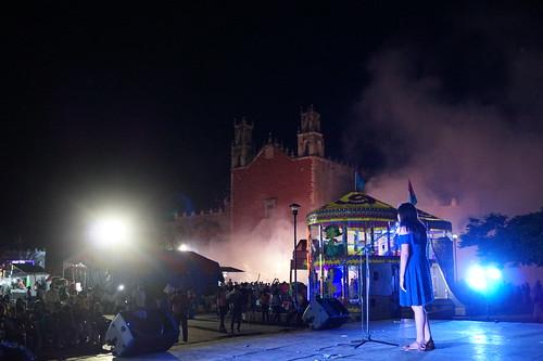 Demostraciones artísticas estudiantiles en la Feria Motul 2017