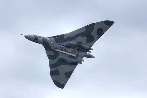 Vulcan Bomber, Farnborough Air Show, July 2010