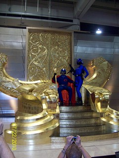 SDCC - Cos-Play - Cobra Commander & Baroness on Oden's throne