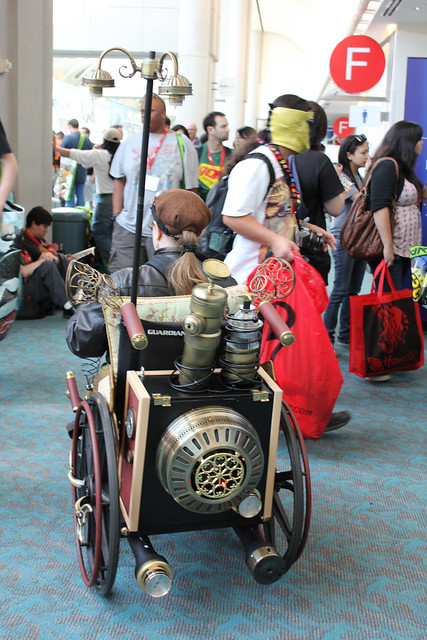 SDCC 2010 - Steampunk Wheelchair