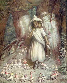 The elf ring - Kate Greenaway